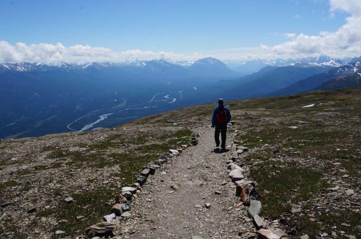 Bergwanderung Whistler Mountain Jasper