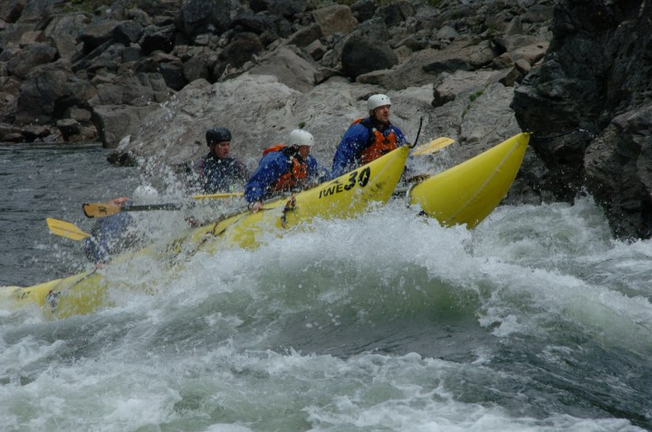 Whitewater Rafting Clearwater River