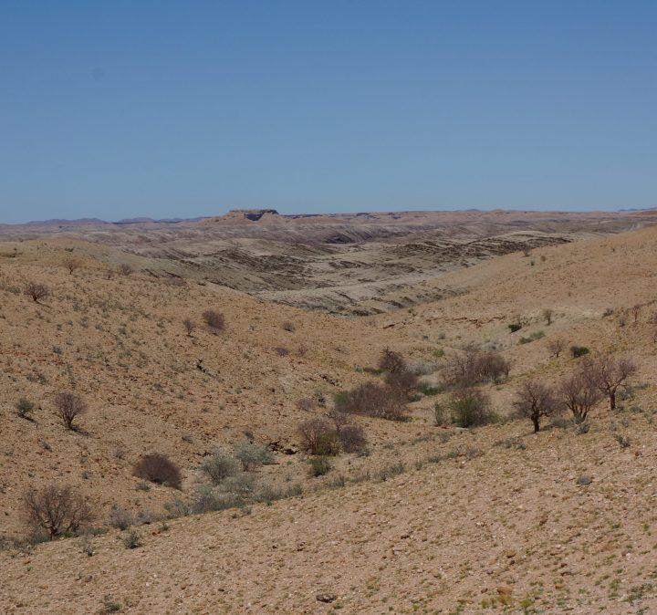 Auf dem Weg in die Namib