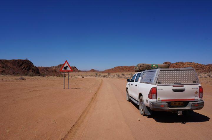 Wüstenelefanten Namibia