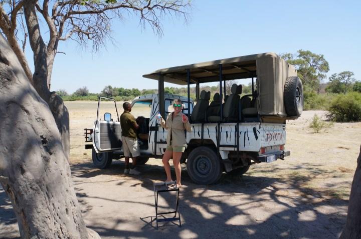 Safari-Break mit Eric