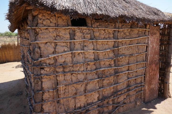 Lehmhütte Namibia