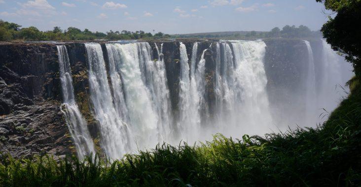 Mainfalls Victoria Falls Simbabwe