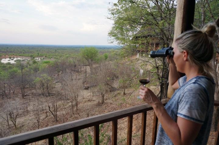 Zimmer Ausblick Victoria Falls Safari Lodge