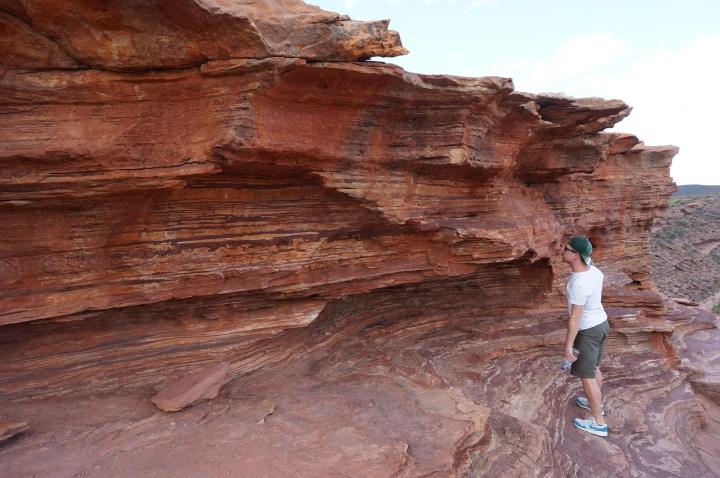 Rote Felsen Kalbarri National Park