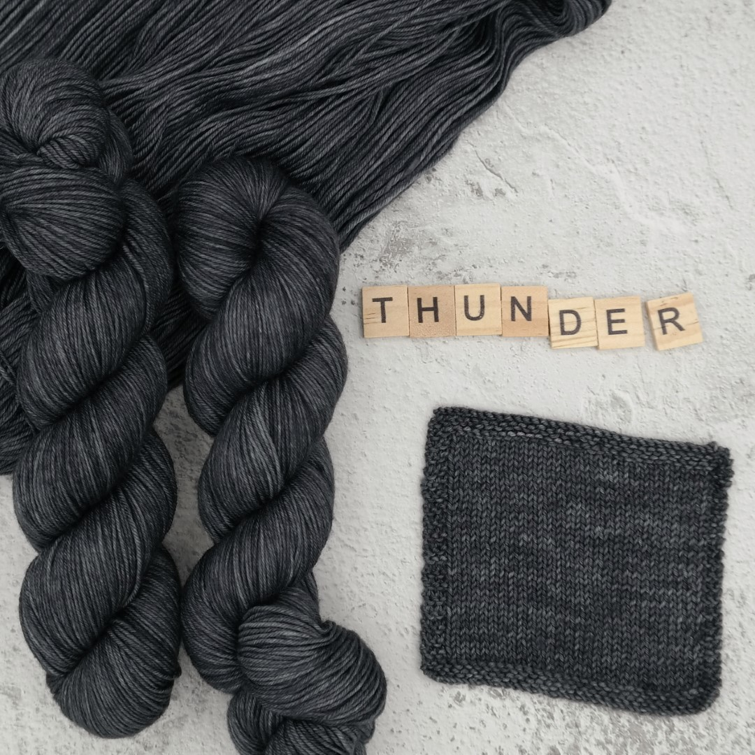 Thunder - MÉRINOS SUPERWASH - Fingering