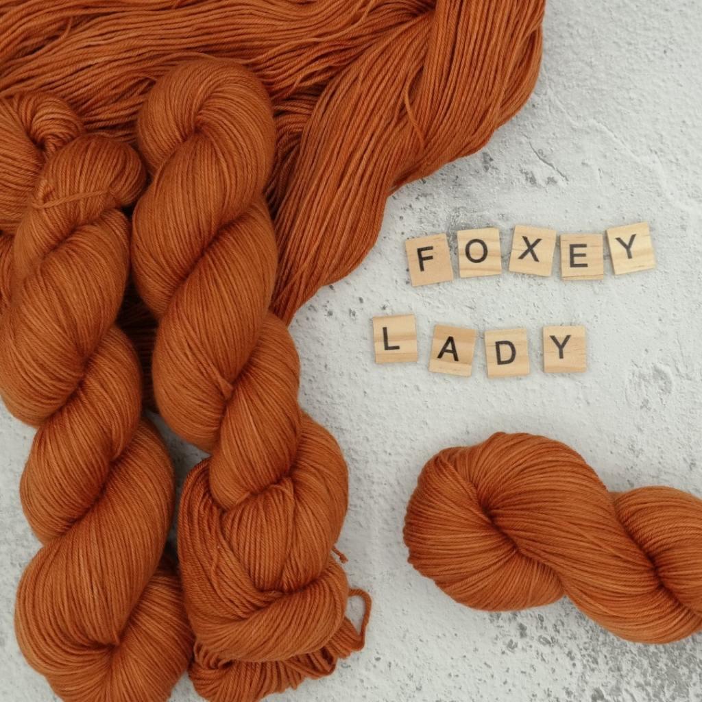 Foxey Lady - MÉRINOS SUPERWASH - Fingering