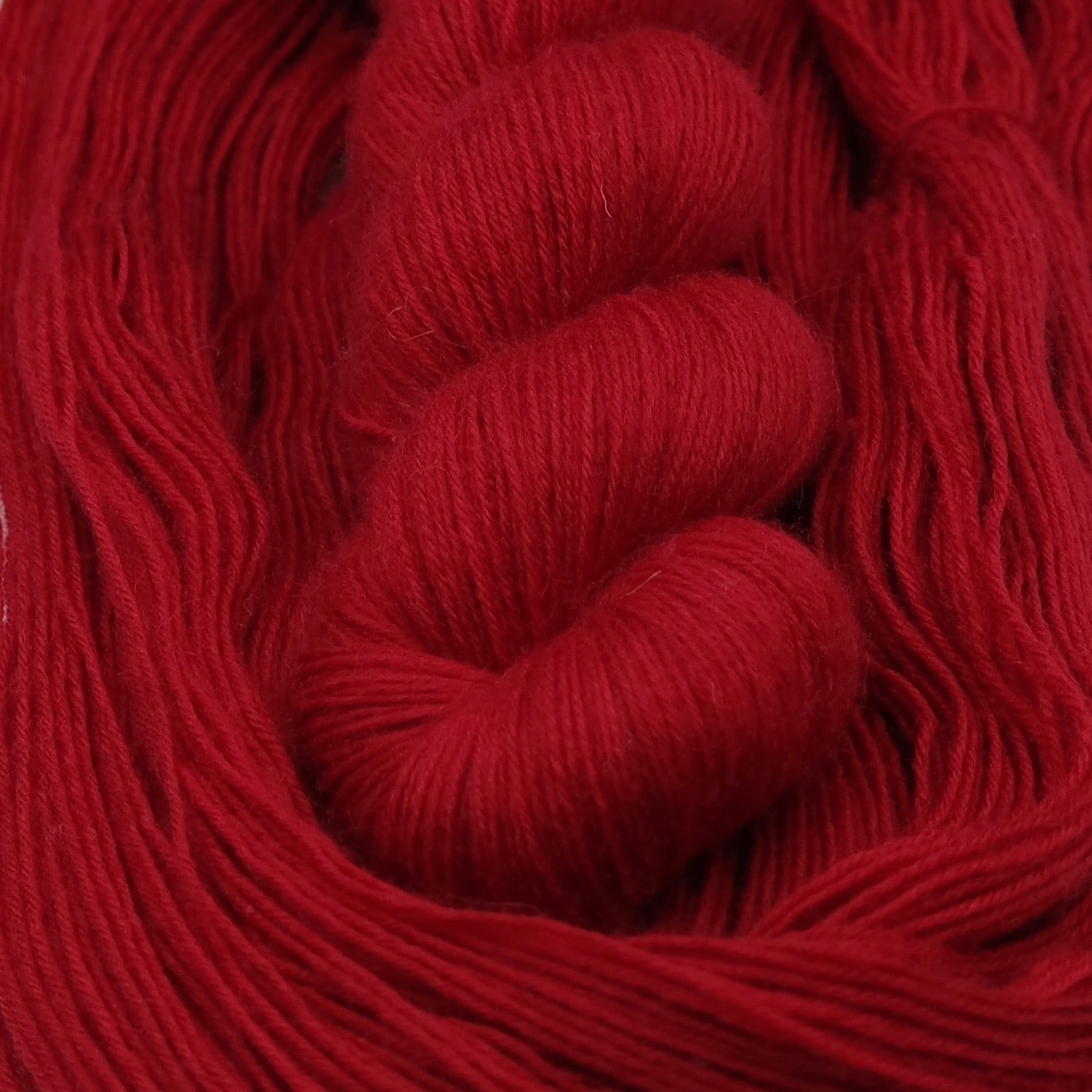 Hot Blood - BFL Fingering - Teinturlurée - Laine teinte à la main