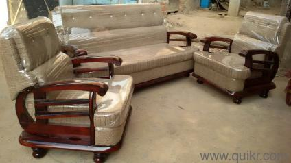 f5a455f77b New Sofa Set S For Home Lifestyle In Hyderabad. Teak Round Sofa Set Wooden  ...