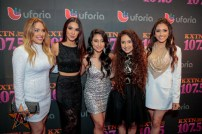 Las Fenix at 2015 Tejano Music Awards Purple Carpet (Photo by Ryan Bazan / Tejano Nation)