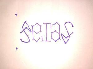 ambigram tejas