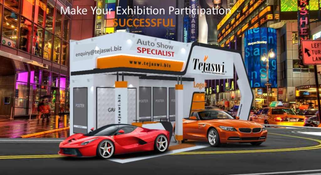 Auto Expo Exhibition Stall Designer