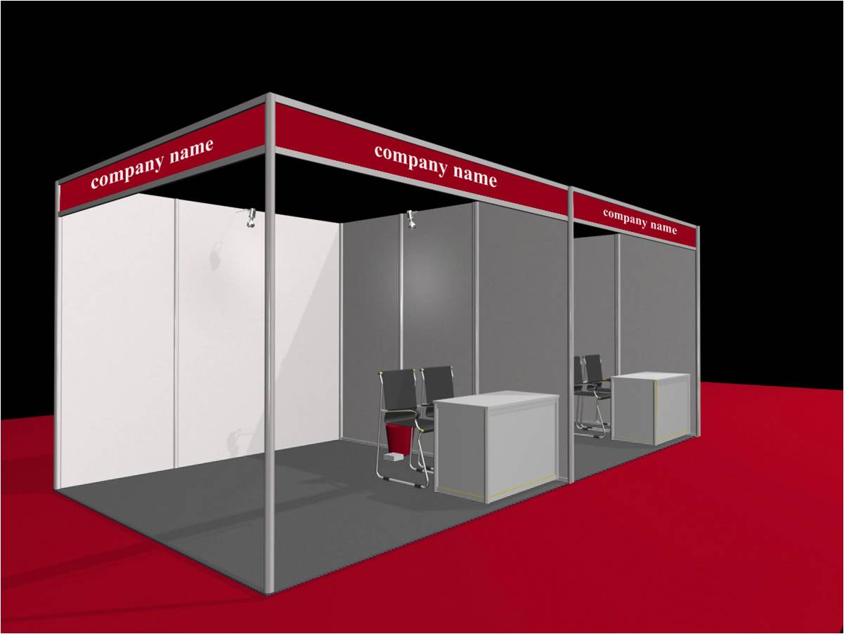 Exhibition Shell Zone : What are the choices of exhibition shell scheme stand