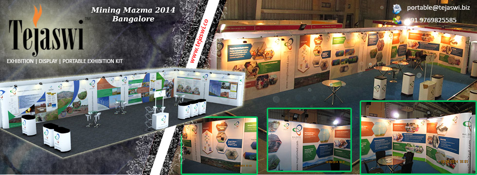Mining Mazma Portable Exhibition Stall Design & Setup