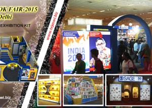 Exhibition Stand Design in Delhi, Exhibition Stand Construction in Delhi, World Book Fair Exhibition Stand Design Construction