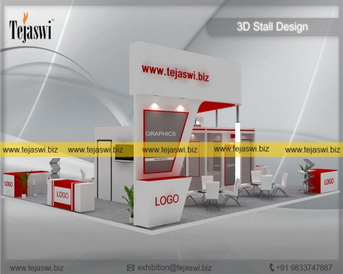 100 Square Meter Exhibition Booth Design