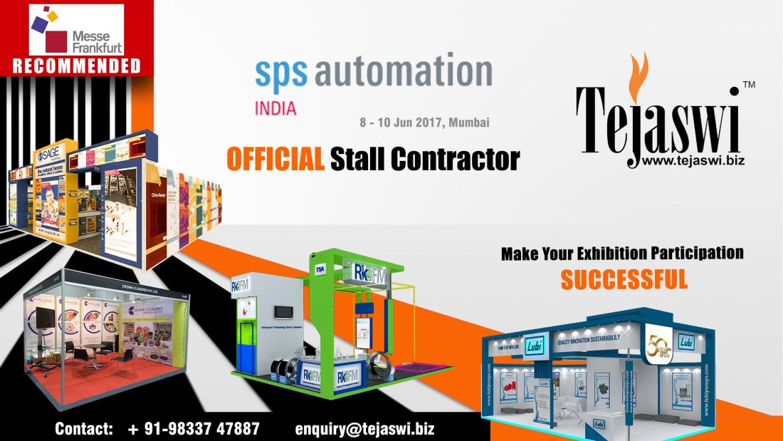 SPS Automation Official Exhibition Stall Fabricator Mumbai