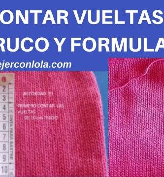 CONTAR VUELTAS DOS AGUJAS (TRUCO Y FORMULA)