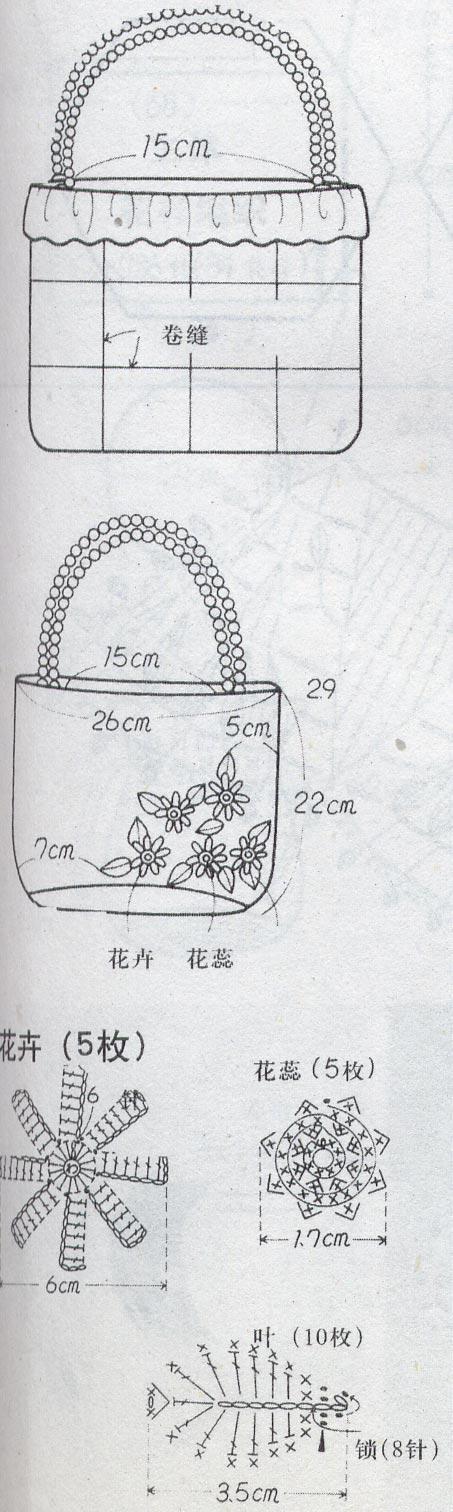 Bolso crochet elegante y fácil1