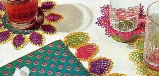 Blondas de piña crochet para todo