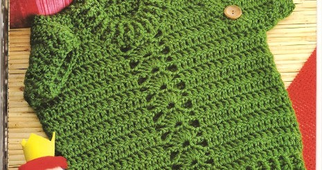 Chaleco crochet bebe con esquema