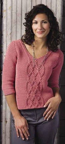 Novedoso diseño chaleco en crochet con patrones