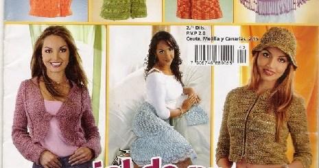 Revista Crochet prendas dama