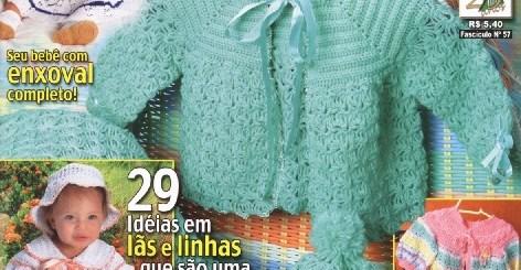 Revista crochet gratis bebe