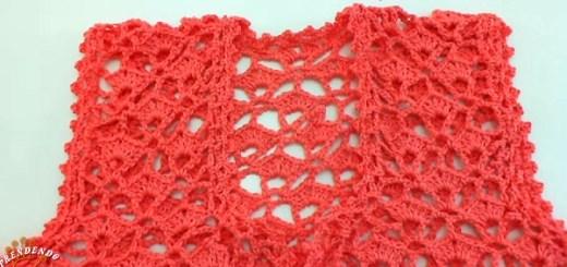 Bolero de crochet paso a paso