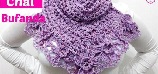 Como tejer una bufanda a crochet