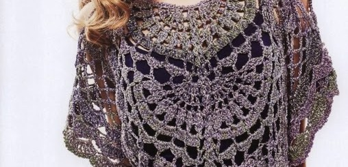 Blusa crochet original