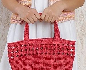 Bolsos tejidos a crochet patrones