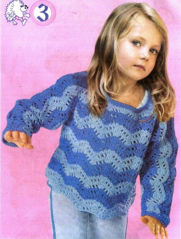 001c0252f Chaleco crochet niña 4 años ➤ TEJER CROCHET 🌻➤ Crochet Patrones