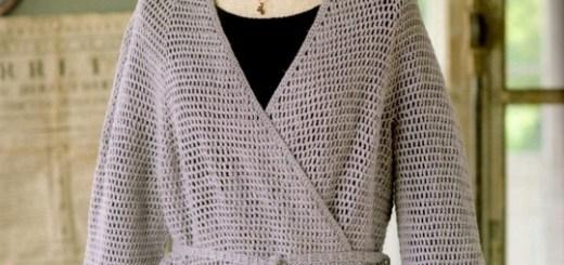 Chaleco de mujer a crochet