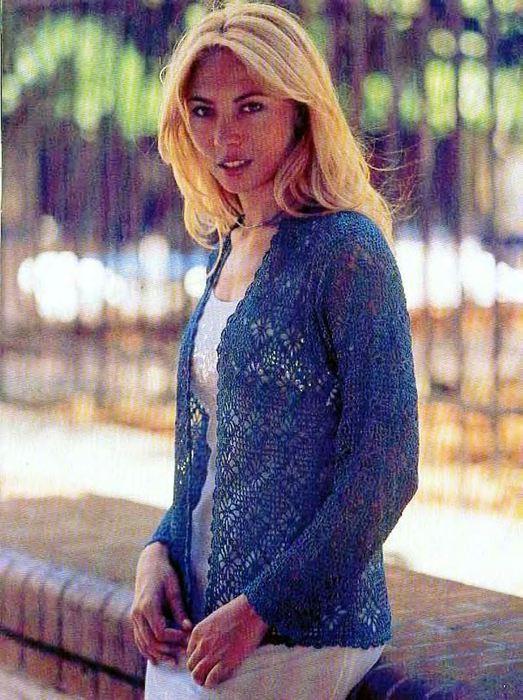 Chalecos para mujer en crochet
