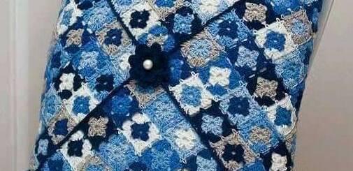 Cojín sencillo crochet