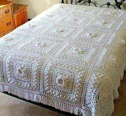 Colchas de crochet patrones