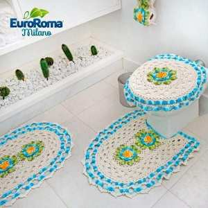 Crochet juego de baño