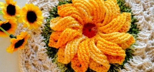 Gancho agarradera flor