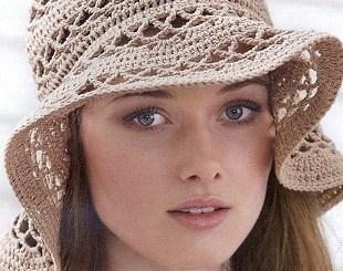 Gorro crochet verano