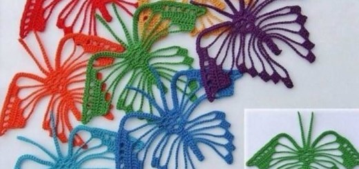 Mariposas de crochet