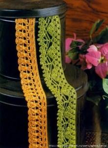 Orilla crochet patrones