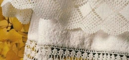 Orilla crochet toallas