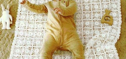 Patrones de mantas para bebes