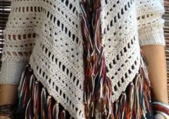Poncho crochet hook