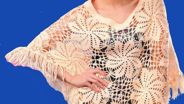Poncho crochet hermoso