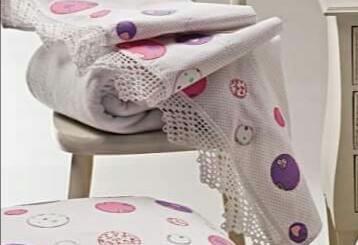 Puntilla crochet elegante