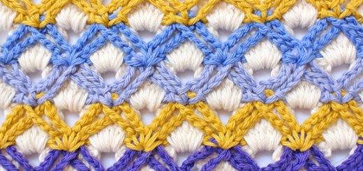 Punto crochet esquema