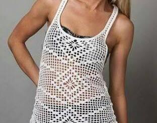 Sudadera crochet