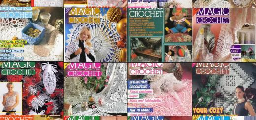 Revistas magic crochet